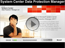 Microsoft System Center Data Protection Manager Demo